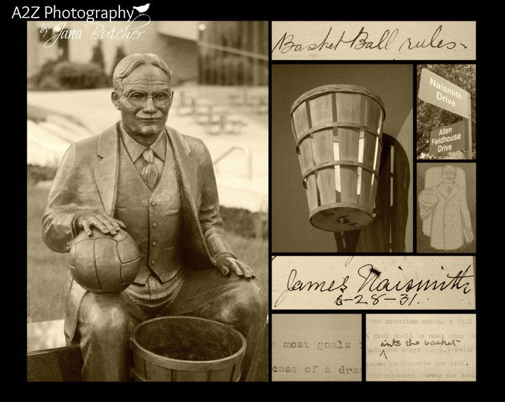 A personal favorite from my Etsy shop https://www.etsy.com/listing/171920654/james-naismith-basketball-rules-college