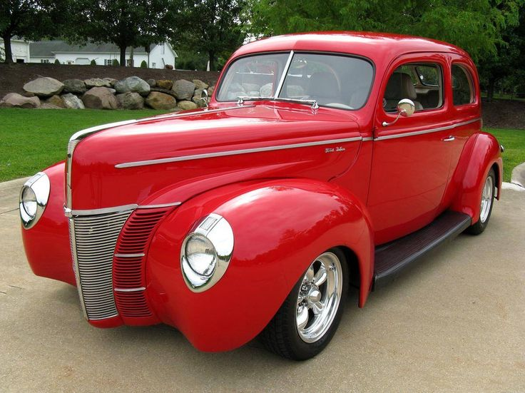 1940 ford deluxe 2 door sedan street rods pinterest for 1940 ford deluxe two door business coupe