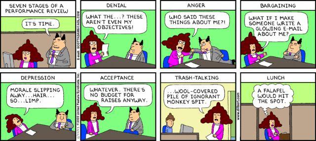 Dilbert Performance Review Generator  Work Funnies