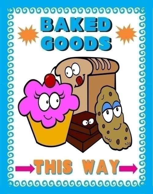 Best  Bake Sale Poster Ideas On   Bake Sale Posters