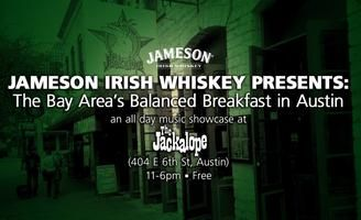 Balanced Breakfast: Austin | Tuesday, March 17, 2015 | 11am-6pm | The Jackalope: 404 E. 6th St., Austin, TX 78701 | Breakfast & networking at 11am; San Francisco Bay area bands (and free beer) from 12-6pm | Free with RSVP: https://www.eventbrite.com/e/balanced-breakfast-austin-tickets-15492779320