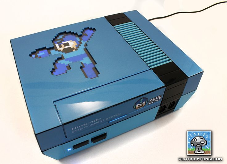 Incredible Mega Man NES Console Mod on Global Geek News.