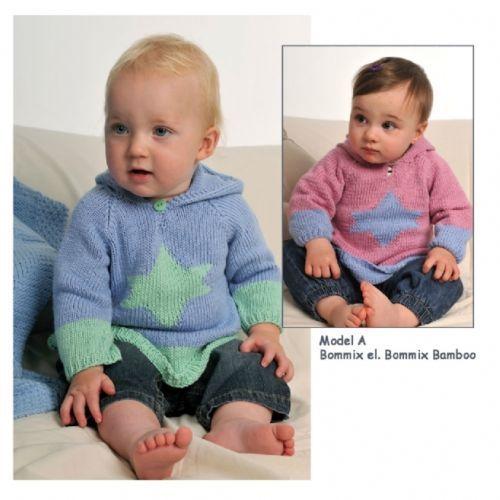 HJERTEGARN-BABY-Nr-43-Heft-mit-suessen-Baby-Modellen-aus-Daenemark-Reborn-Stricken