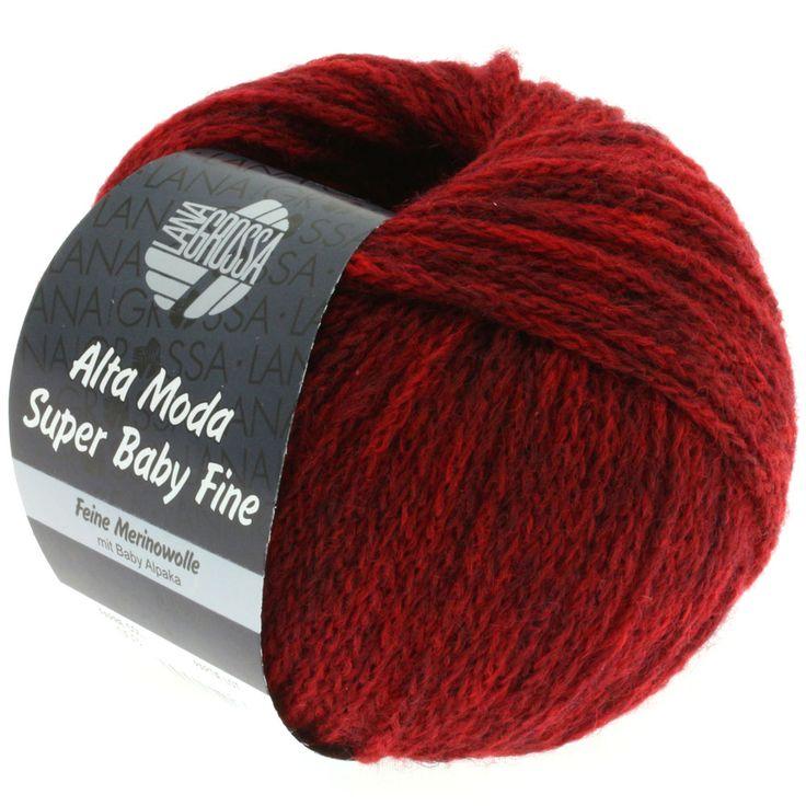 ALTA MODA SUPER BABY FINE uni 03-dark red