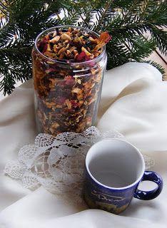 szeretetrehangoltan: Házi teák ajándékba