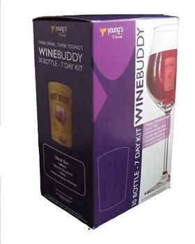 Youngs Wine Buddy Cabernet Sauvignon Red Wine Kit - Make your own wine - #homebrew