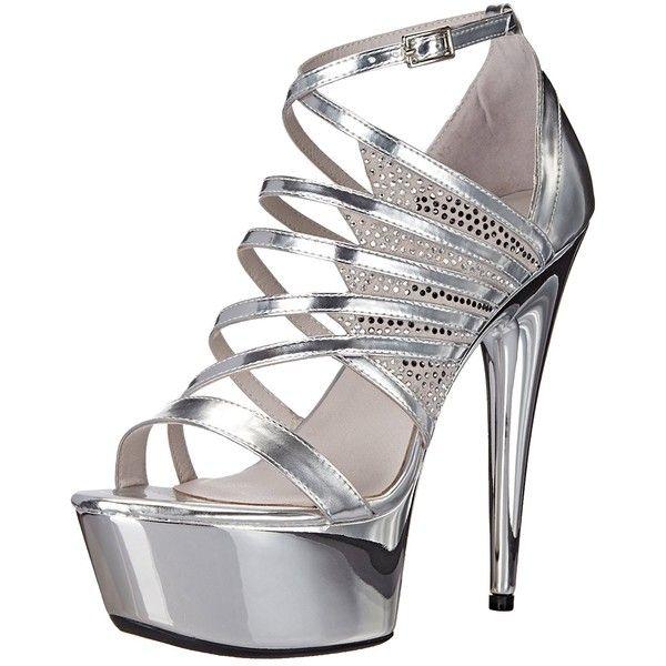 Ellie Shoes Women's 609-Aurore Platform Sandal (190 ILS) ❤ liked on Polyvore featuring shoes, sandals, ellie shoes, wide shoes, wide fit shoes, platform sandals and wide sandals