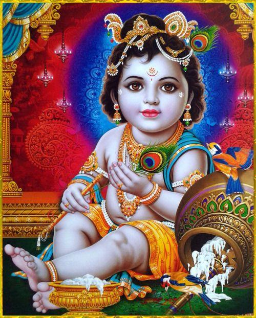 ☀ MAKHAN CHOR KRISHNA ☀ http://careforcows.org/ Hare Krishna Hare Krishna Krishna Krishna Hare Hare Hare Rama Hare Rama Rama Rama Hare Hare