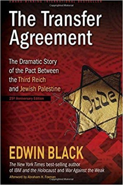 """The Haavara Agreement [Transfer Agreement] between the Nazi Party in Germany and the World Zionist Organization in 1933 hugely helped the Zionists establish themselves as settlers-colonists in Palestine. Adolf Hitler was the true founding father of """"Israel"""""""