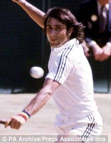 lie Nastase is a Romanian former professional tennis player, one of the world's top players of the 1970s.    Among his 57 singles titles are the US Open in 1972 and the French Open in 1973, and in doubles he won at Wimbledon in 1973, the French Open in 1970 and the US Open in 1975. He was runner-up in the Wimbledon singles competition in 1972, playing in a classic men's final against Stan Smith.