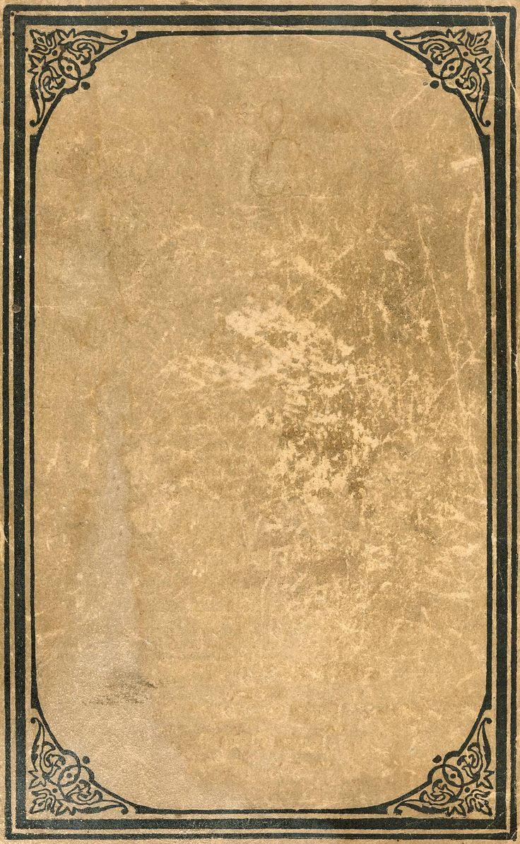 83 best ephemera frames images on pinterest arabesque for Vintage book paper
