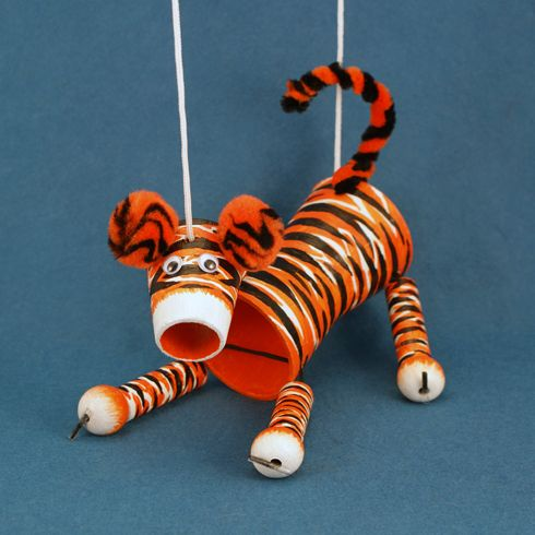 44 best truman tigers images on pinterest for Tiger puppet template