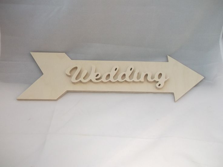 Wedding Arrow Cut on 6mm Plywood, our Wedding Arrow is then checked and sanded by hand. Shapes come ready to glue together and decorate Made from: Ply Arrow Dimensions (approx.) Height (cm): 12 Width (cm): 38 Depth (cm): 0.6 Word Dimensions (approx.) Height (cm): 6 Width (cm): 23 Depth (cm): 0.6 Production Method: CNC Router. …
