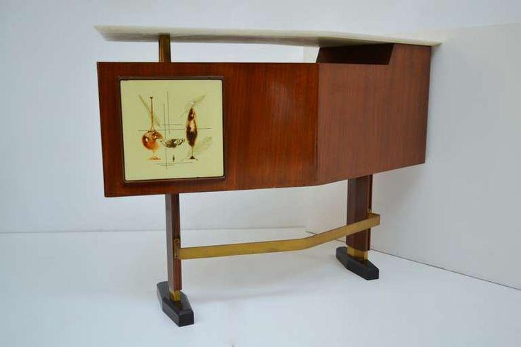 1950 bar furniture | Furniture Bar- 1950's at 1stdibs