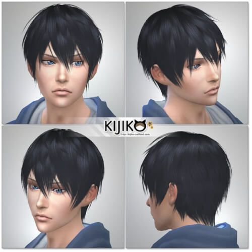Kijiko - Loves to Swim hairstyle for The Sims 4