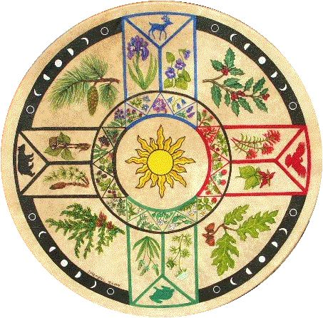 Four Directions Cherokee Herbal Drum