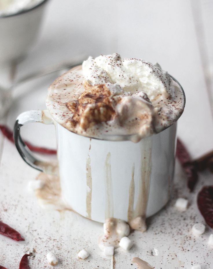 Aztec Mocha: Chiles + Espresso + Hot Chocolate