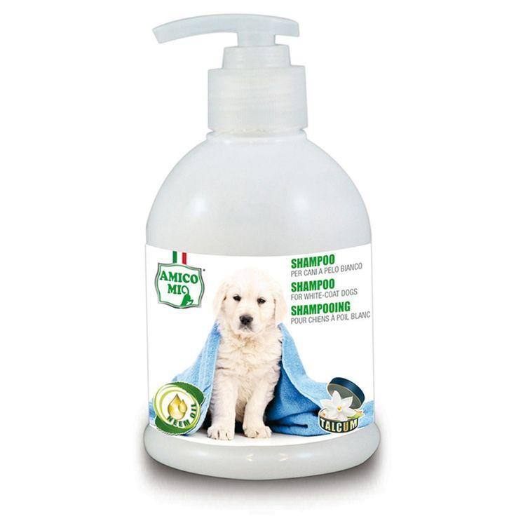 MA-FRA Shampoo per cani a pelo bianco 250ml pulizia detergente manto LAM011
