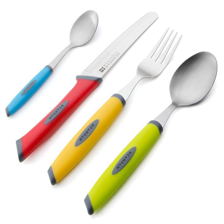 Scanpan - Spectrum Multicoloured Cutlery Set 16pce | Peter's of Kensington