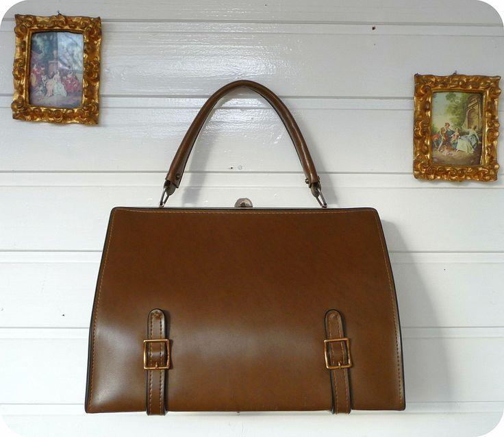 Vintage 50er Tasche Bag Handtasche Schultertasche 50´s Granny Mad Men in Kleidung & Accessoires, Damentaschen | eBay