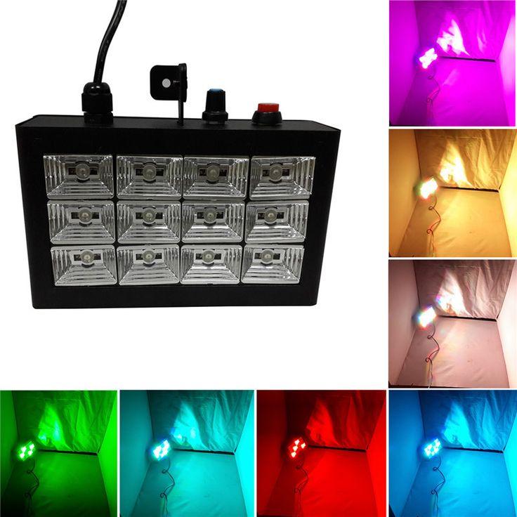$21.32 (Buy here: https://alitems.com/g/1e8d114494ebda23ff8b16525dc3e8/?i=5&ulp=https%3A%2F%2Fwww.aliexpress.com%2Fitem%2F12PCS-LEDs-RGB-dj-stage-Sound-Active-Audio-strobe-light-stroboscope-lighting-effect-in-home-party%2F32617806924.html ) 12PCS LEDs RGB dj stage Sound Active& Audio strobe light  stroboscope lighting effect in home party, disco Show KTV Wedding Club for just $21.32
