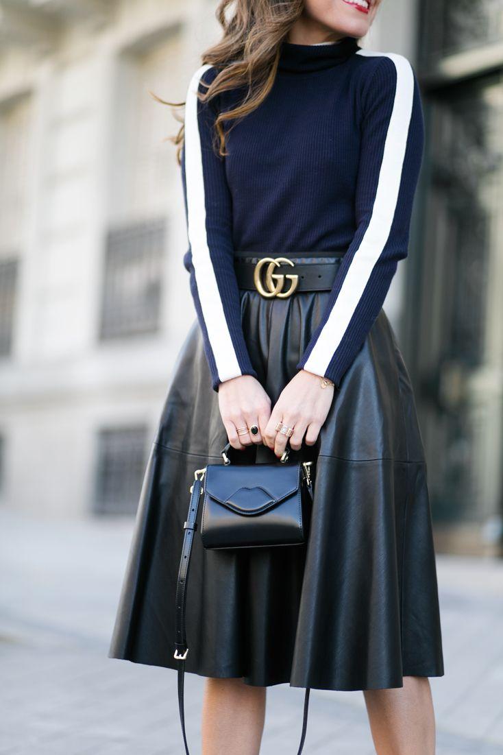 Un cinturón Gucci de la nueva colección se encuentra como protagonista en dos looks formados por bloggers españolas. Los mejores duelos de estil...