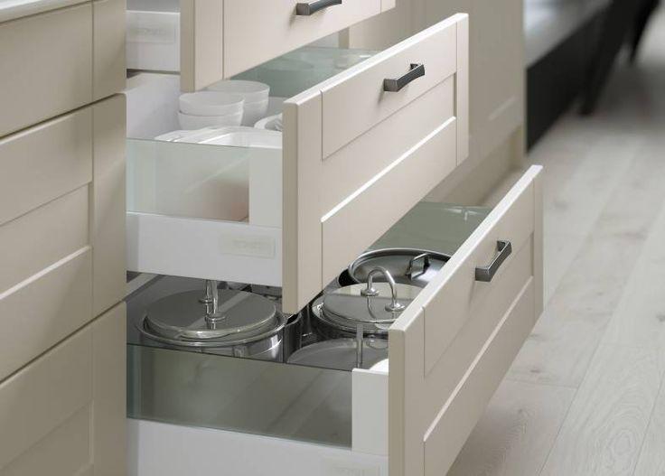 AuBergewohnlich Shaker Kitchen In Putty | Wren Kitchens