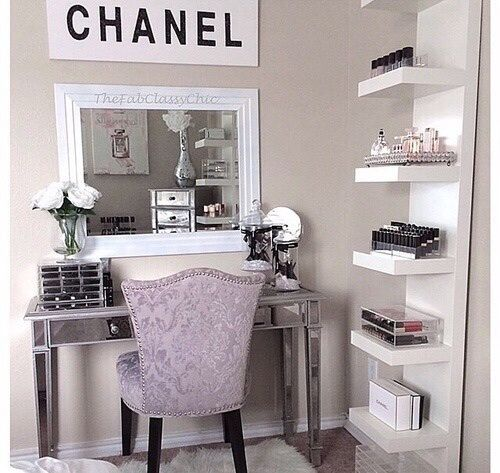 Best 25 Vanity In Closet Ideas On Pinterest: Best 25+ Vanity Table Organization Ideas On Pinterest