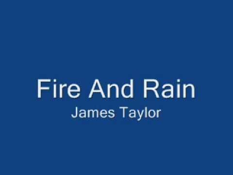 ▶ Fire And Rain - James Taylor with lyrics - YouTube