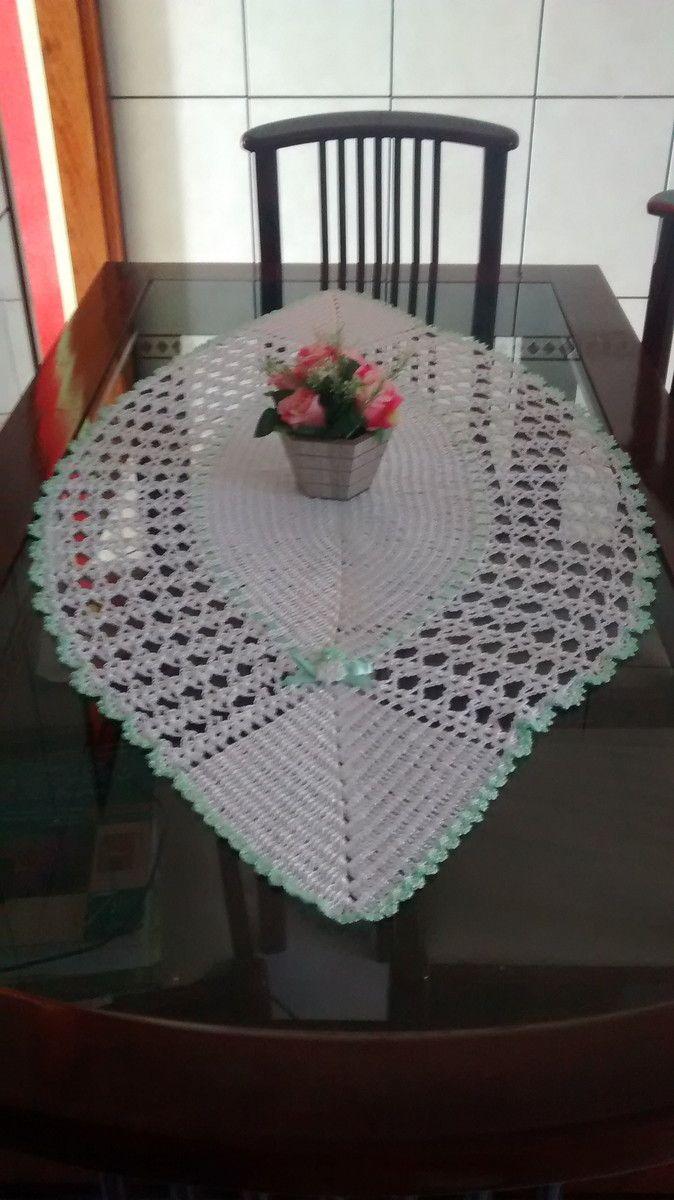 Caminho de mesa | Lú Guimarães Crochê | Elo7