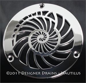oceanus series shower drain covers