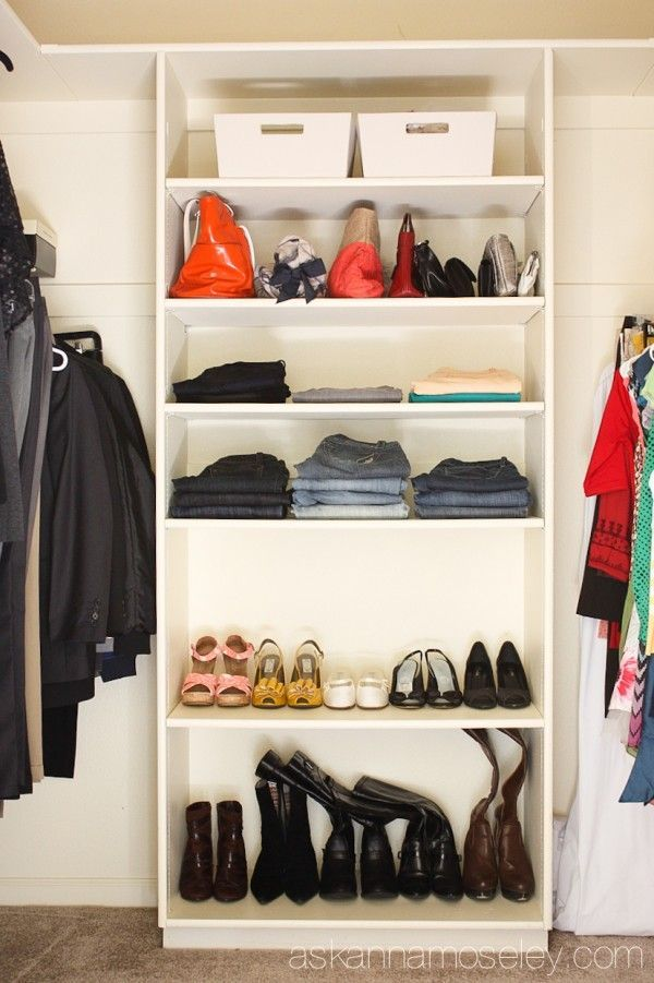 Organizing Closet Space 294 best organizing :: closets images on pinterest | organization