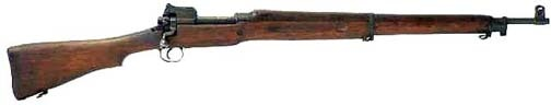 M1917 Enfield Rifle....Originally developed at the Royal Small Arms Factory located at Enfield Lock, in Middlesex on the outskirts of London, the so-called P-14 used the .303 British cartridge.