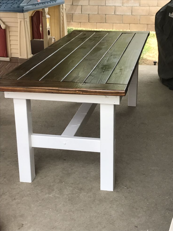 Best 25 2x4 furniture ideas on pinterest diy projects for 2x4 farm table
