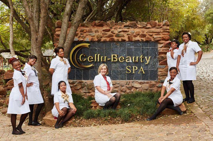 Cellu-Beauty ladies at Magalies Park..
