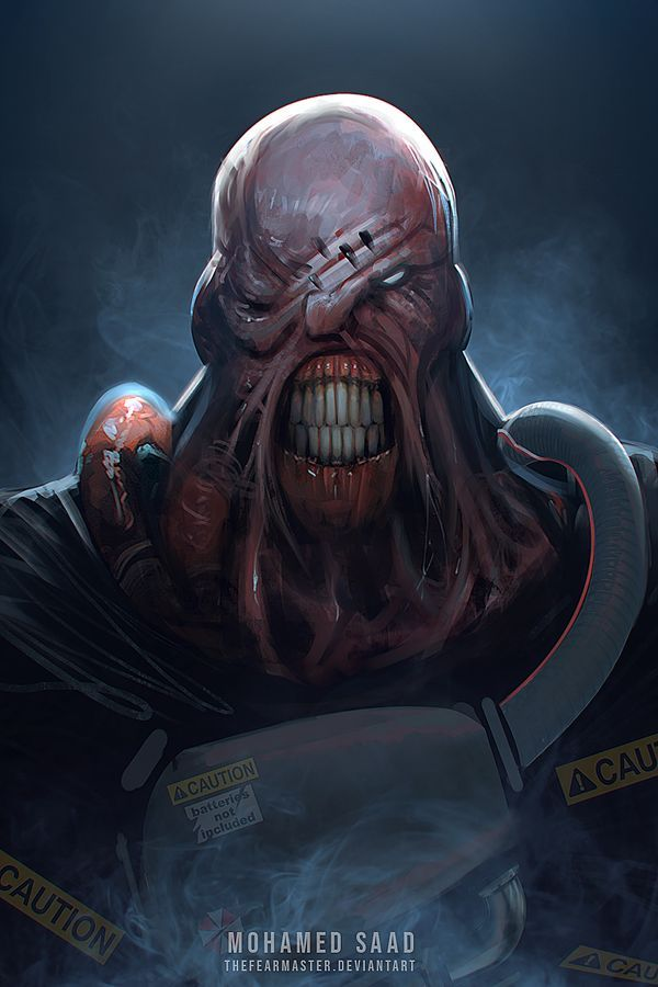 Nemesis By Thefearmaster On Deviantart In 2020 Resident Evil