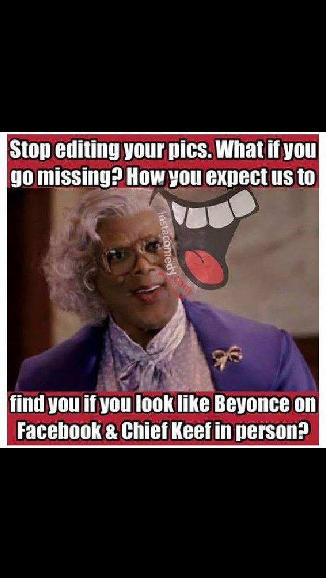 #tylerperry #hilarious #instagram #facebook #editing
