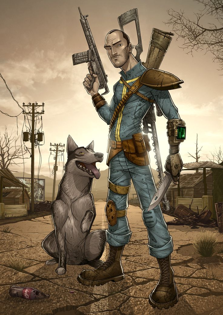 Fallout 3 by PatrickBrown. Follow my board for more Fallout contents! https://www.pinterest.com/hangmen13/fallout-3/