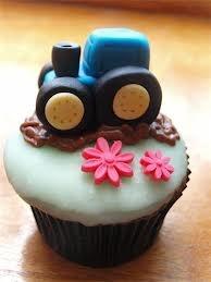 tractor cupcake - Google Search