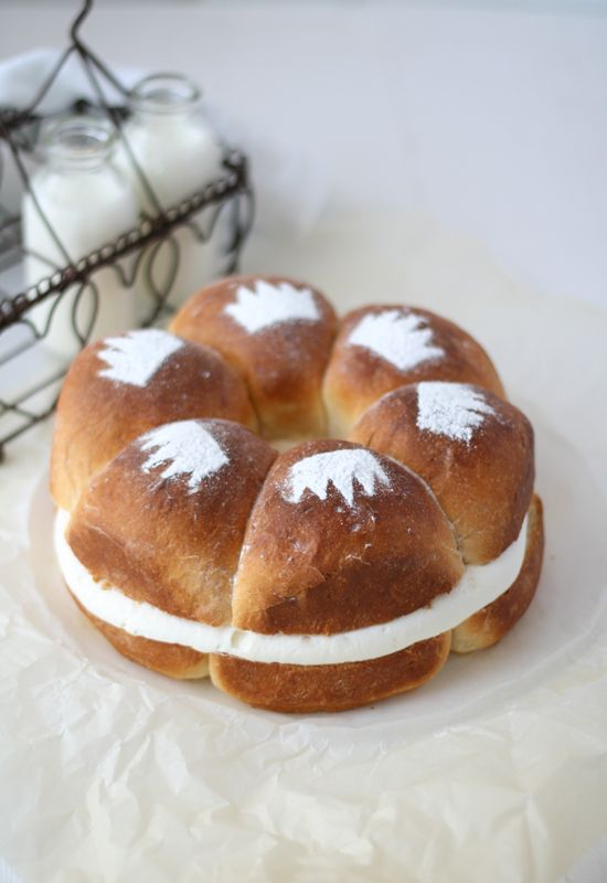 """Roscón de reyes"" A typical dessert from Spain. We eat it the 6 of january."