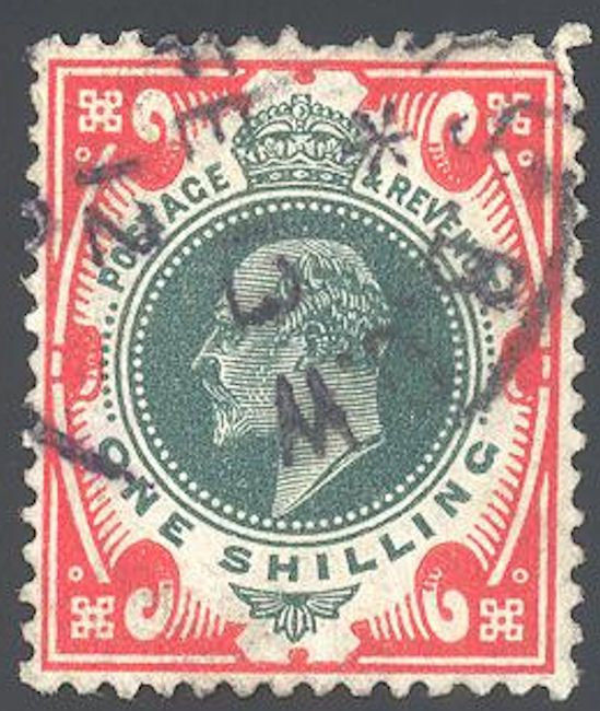 Blue Moon Philatelic Stamp Store - Great Britain 138a Stamp King Edward VII Stamp EU GB 138a-1 USED CDS SP, $45.00 (http://www.bmastamps2.com/stamps/europe/great-britain/great-britain-138a-stamp-king-edward-vii-stamp-eu-gb-138a-1-used-cds-sp/)
