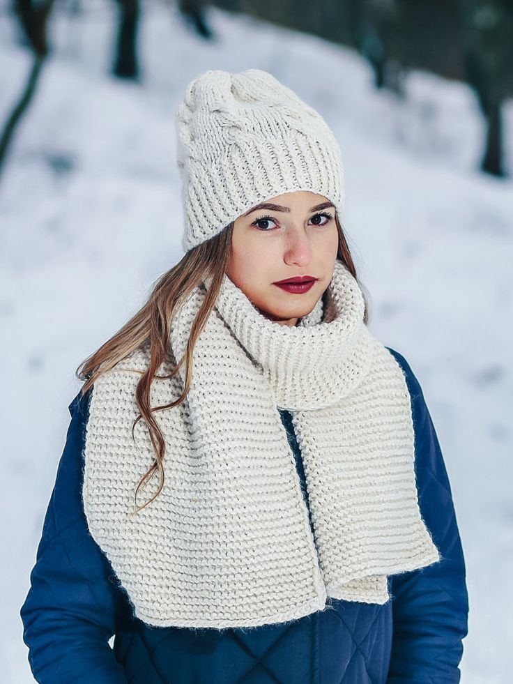 Excited to share the latest addition to my #etsy shop: White beanie hat White winter set Beige scarf ivory beanie hat Wool hat and scarf Long knit scarf Creamy hat Winter wool hat White beanie http://etsy.me/2yUigAk #accessories #scarf #beige #white #birthday #christma