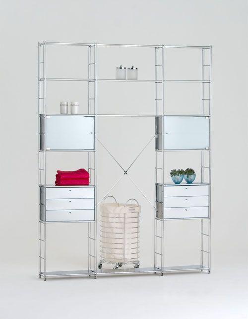 Открытый шкаф для ванной - Галерея идей Balton