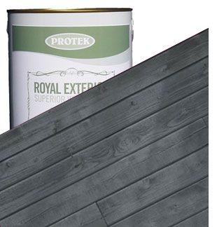Royal Exterior Wood Finish - Slate Grey