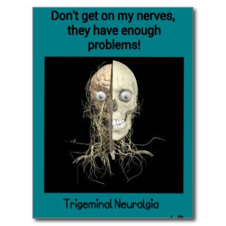 Trigeminal Neuralgia Awareness Postcard