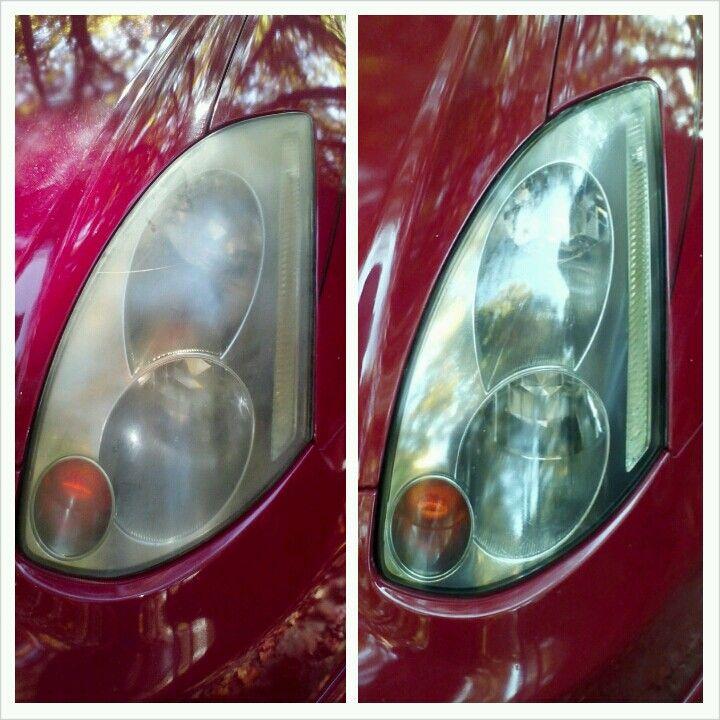 Do It Yourself Headlight Restoration Did This Myself