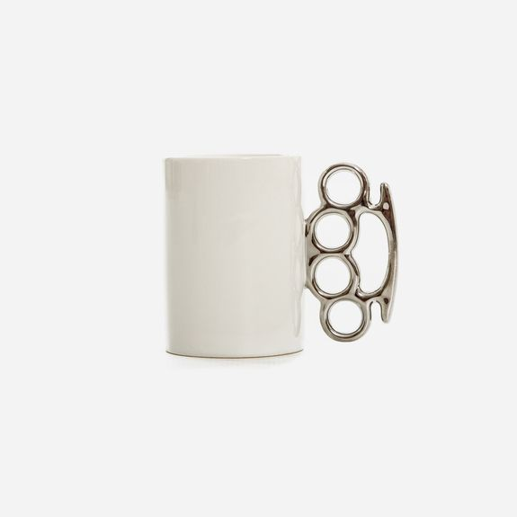 Superbalist - Knuckle Duster Mug – White