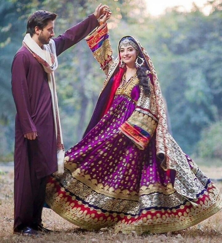 Afghan Wedding Gowns: Girl On Beautiful Couples In 2019