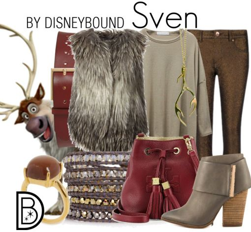 Stay warm wearing this Frozen inspired Sven Disneybound outfit | Disney Fashion | DisneyFashion Outfits | Disney Outfits | Disney Outfits Ideas | Disneybound Outfits |