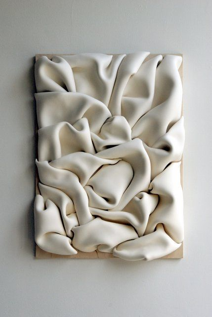 Wall sculpture - Jeannine-Marchand: